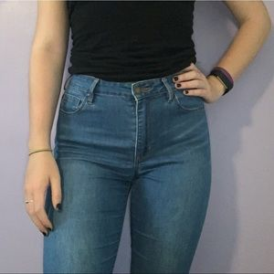 Bullhead Denim Super High Rise Jeans